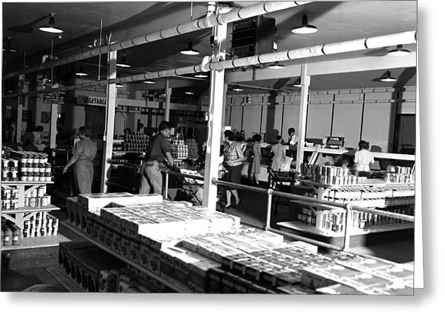 Manhattan Project Commissary Greeting Card