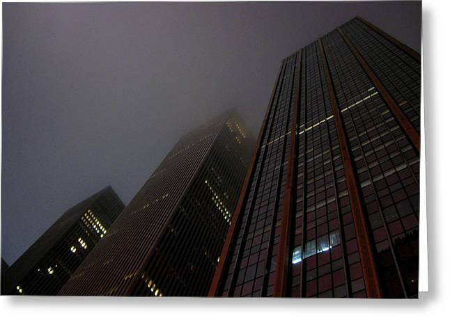 Manhattan Skyscrapers Greeting Card