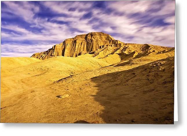 Manley Beacon Death Valley Greeting Card by Dan Blackburn