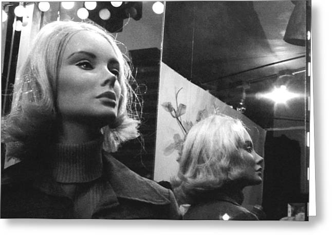 Mannequin 1 Greeting Card by David Gilbert