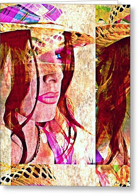 Mannequin 8 Greeting Card by Maria Huntley