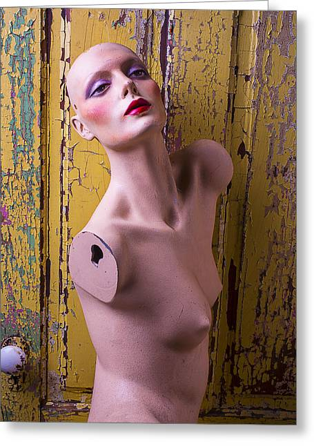 Mannequin Beauty Greeting Card by Garry Gay