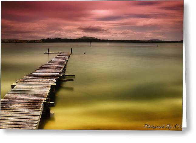 Manning Point Nsw 002 Greeting Card by Kevin Chippindall
