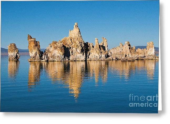 Greeting Card featuring the photograph Mono Lake Tufa by Mae Wertz