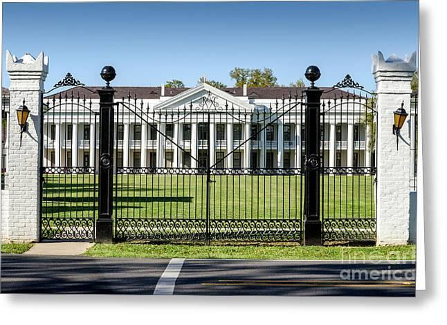 Manresa House Of Retreats In Convent Louisiana Greeting Card