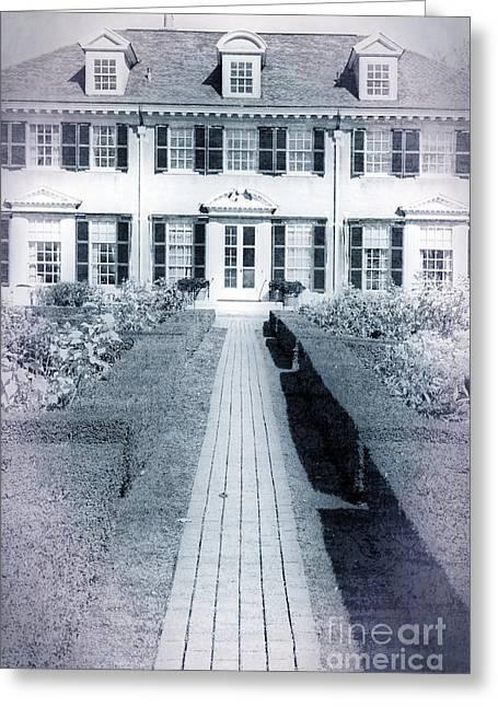 Mansion Greeting Card by Edward Fielding