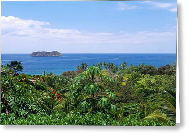 Manuel Antonia National Park Nr Quepos Greeting Card by Panoramic Images