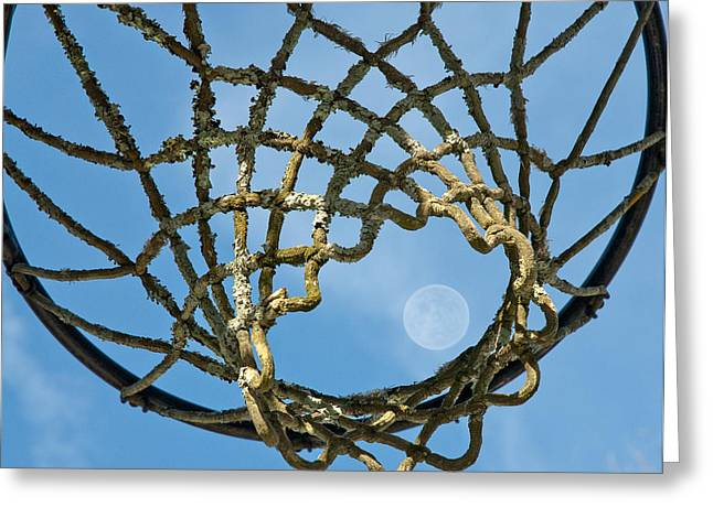 Many Baskets Made Many Moons Ago Greeting Card by Lena Wilhite