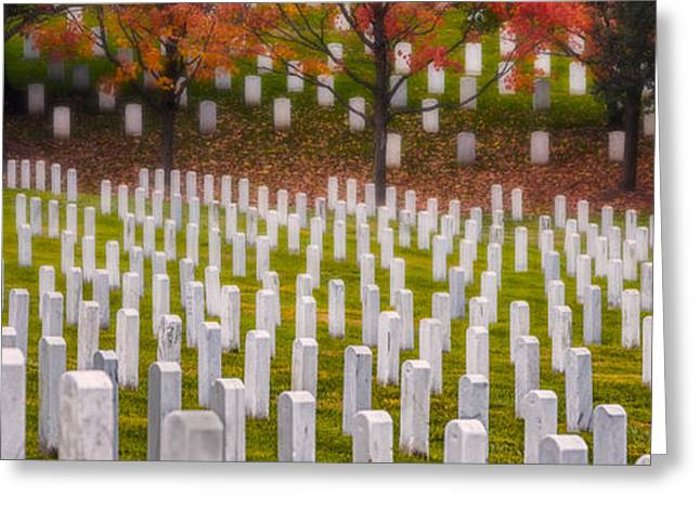Many Have Fallen Greeting Card by Jerry Fornarotto