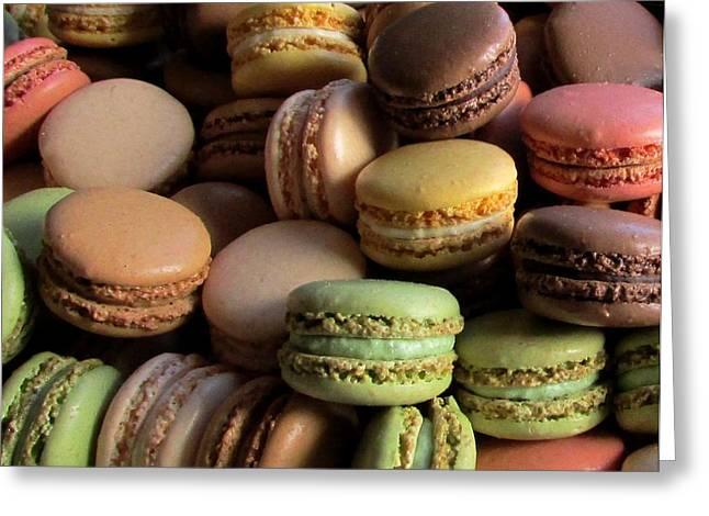 Many Mini Macarons Greeting Card