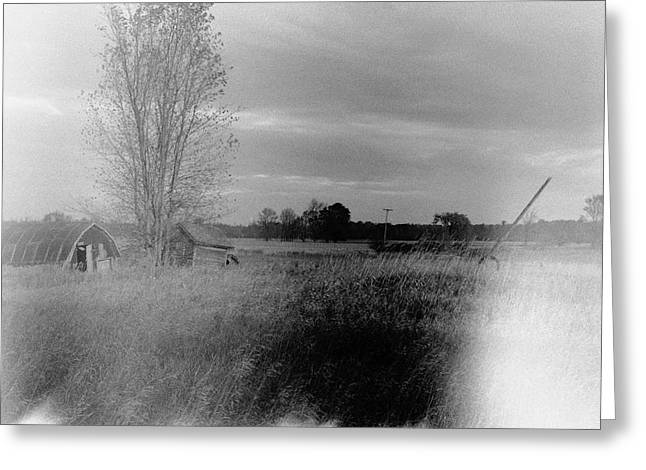 Greeting Card featuring the photograph Maple Ridge Rd Farm by Daniel Thompson