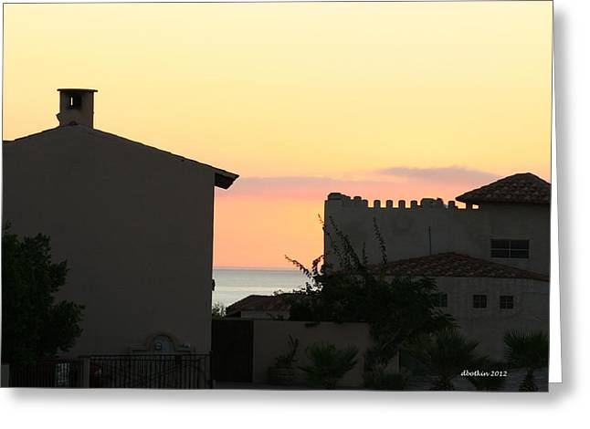 Greeting Card featuring the photograph Mar De Cortez Morning by Dick Botkin