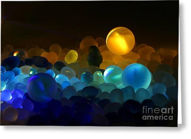 Marble-4 Greeting Card by Tad Kanazaki