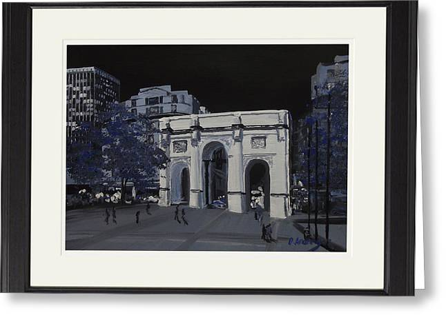 Marble Arch  London Greeting Card