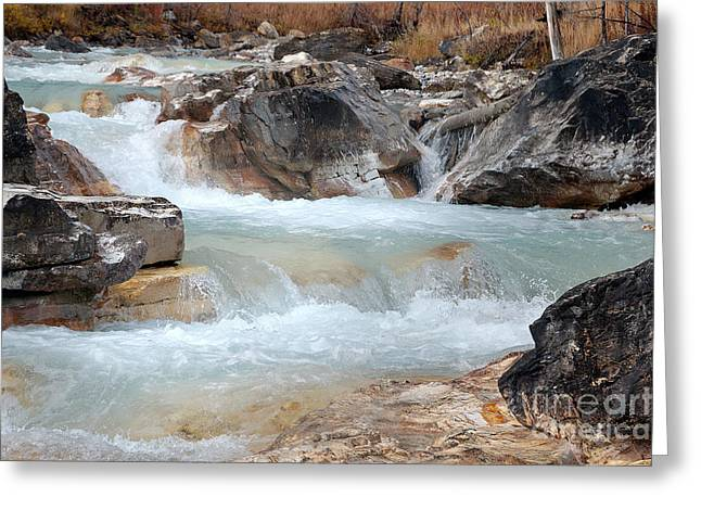 Greeting Card featuring the photograph Marble Canyon by Bob and Nancy Kendrick