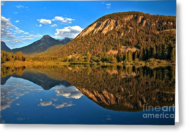 Marble Colorado Fishing Lake Greeting Card by Adam Jewell