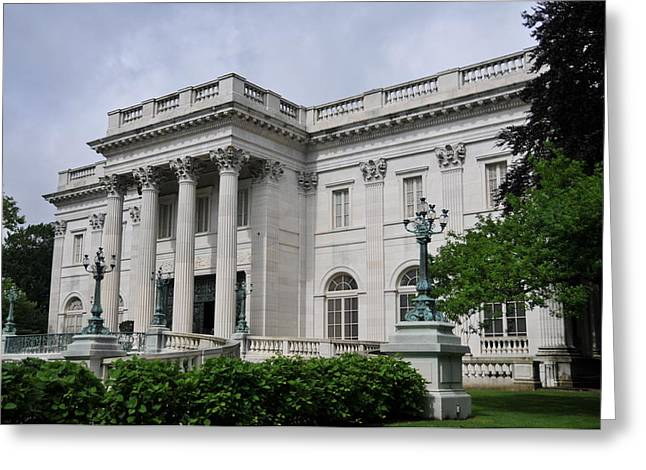 Marble House  --  Newport Rhode Island  Greeting Card