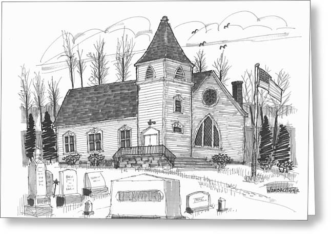 Marbletown Church Greeting Card