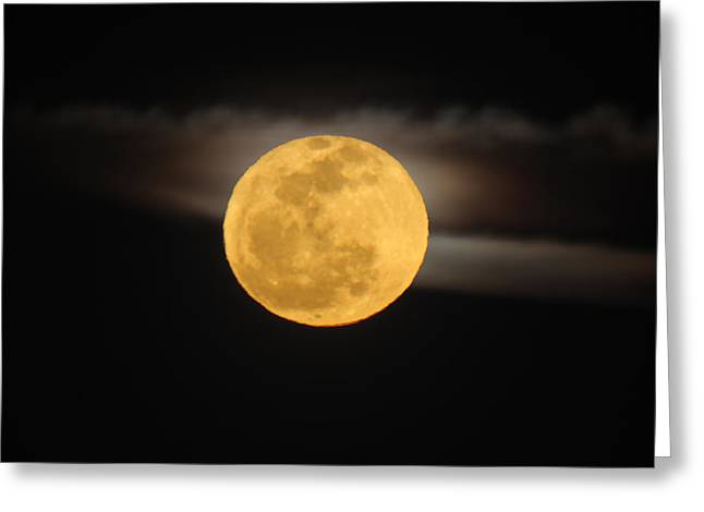 March Full Moon Greeting Card