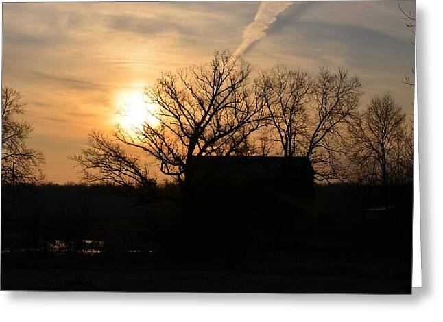 March Sunrise1 Greeting Card by Jennifer  King