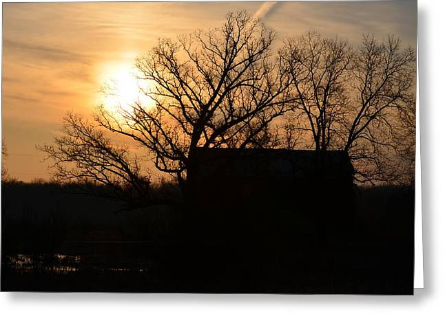 March Sunrise2 Greeting Card by Jennifer  King