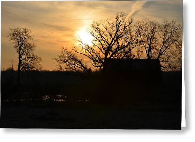March Sunrise3 Greeting Card by Jennifer  King