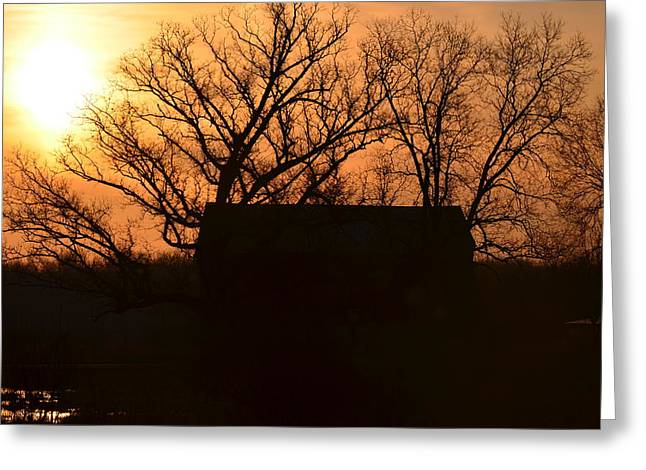 March Sunrise5 Greeting Card by Jennifer  King