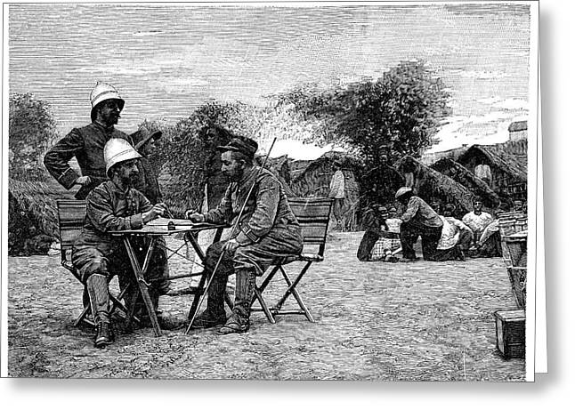Marchand Expedition Across Africa Greeting Card