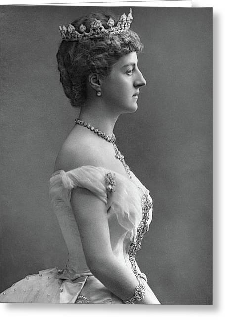 Marchioness Of Londonderry(1834-1896) Greeting Card