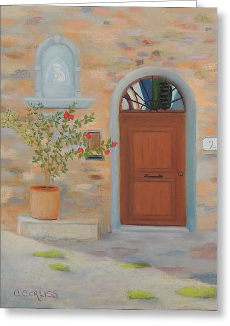 Marcialla Courtyard Greeting Card