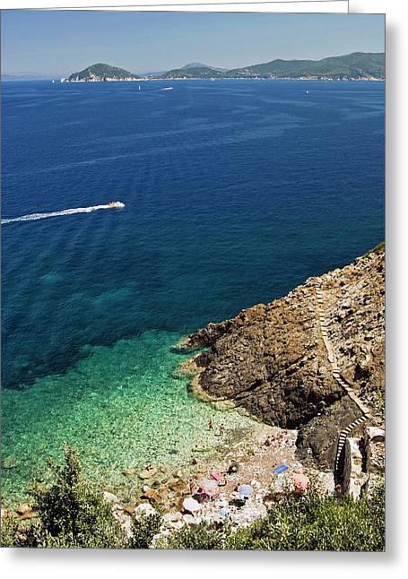 Marciana Marina, Isola D'elba, Elba Greeting Card