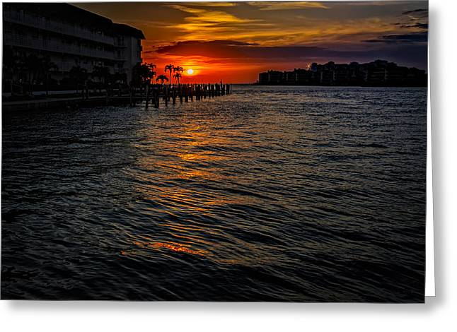 Marco Island Sunset 43 Greeting Card