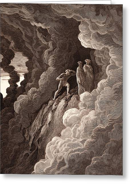 Marco Lombardo, By Gustave DorÉ. Gustave Dore Greeting Card