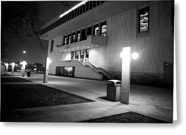 Marcus Center For The Performing Arts Greeting Card by Ricky L Jones