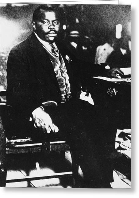 Marcus Garvey (1887-1940) Greeting Card by Granger