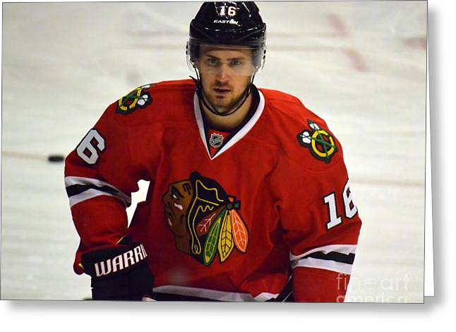 Greeting Card featuring the photograph Marcus Kruger by Melissa Goodrich