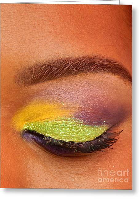 Mardi Gras 2014 Eye See Colors Of Mardi Gras Greeting Card