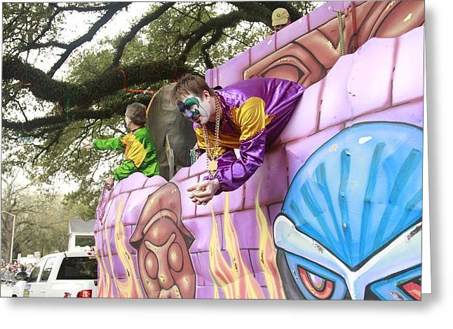 Mardigras In Louisiana Greeting Card