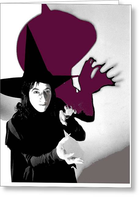Margaret Hamilton As The Wicked Witch Of The West The Wizard Of Oz #1 1939-2013 Greeting Card by David Lee Guss