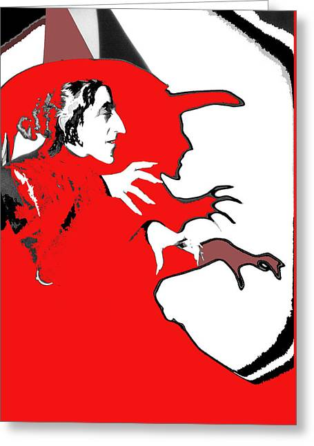 Margaret Hamilton As The Wicked Witch Of The West The Wizard Of Oz #2 1939-2013 Greeting Card by David Lee Guss