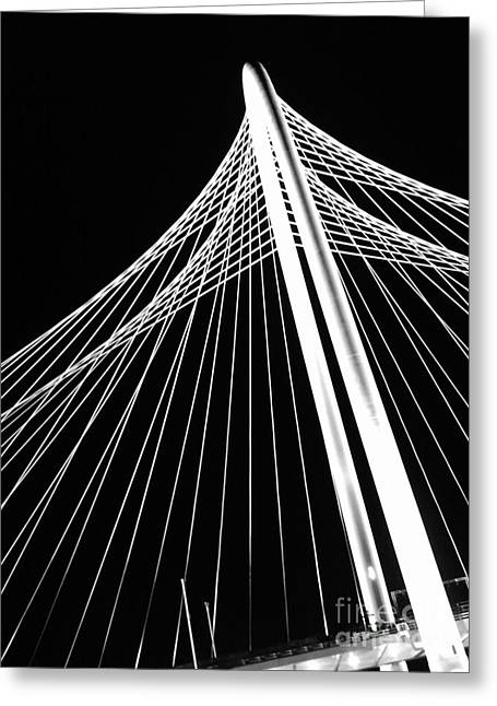 Greeting Card featuring the photograph Margaret Hunt Hill Bridge by Cheryl McClure