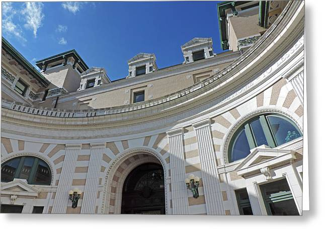 Margaret Morrison Carnegie Hall Greeting Card by Cityscape Photography