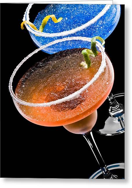 Margarita Cocktail's Greeting Card by Ulrich Schade