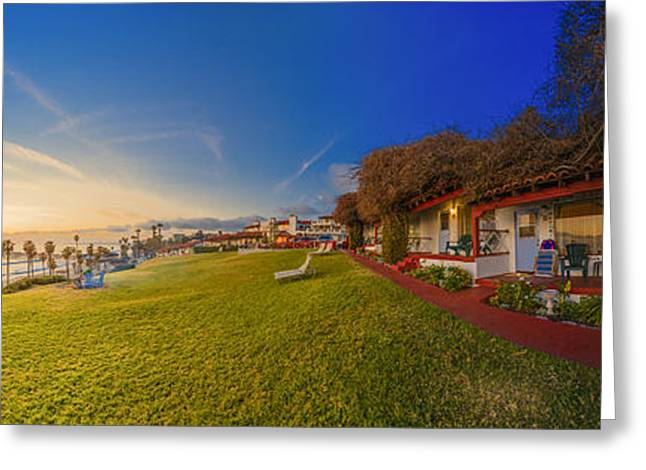 Margarita Time At The Beachcomber 360 Panorama Greeting Card by Scott Campbell