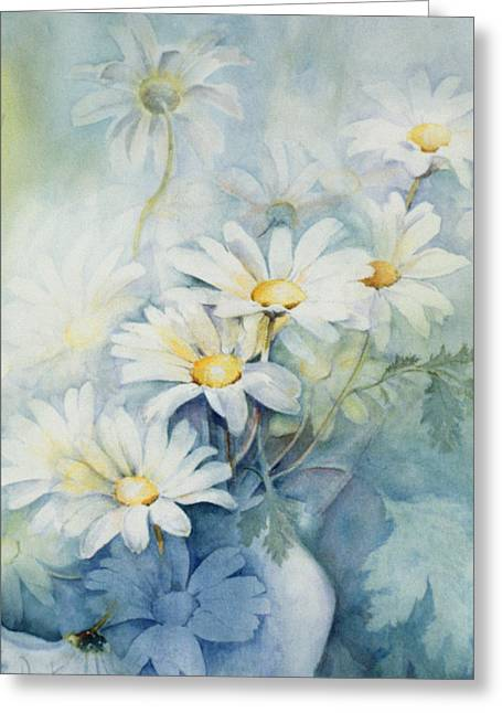 Marguerites, Alexandria Greeting Card