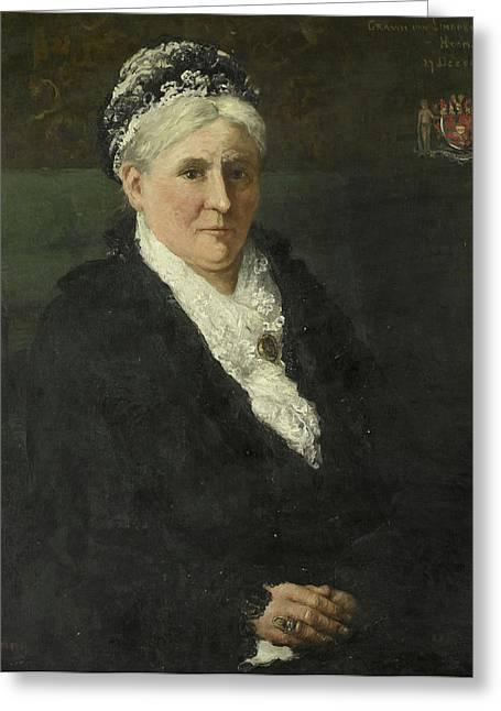 Maria Hermina Heemskerk 1827-1908 Greeting Card