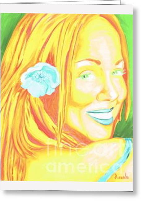 Mariah Greeting Card