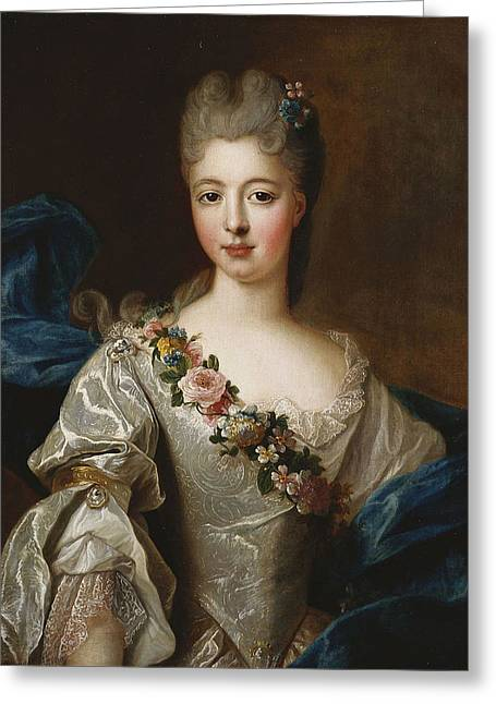 Marie Anne De Bourbon Greeting Card