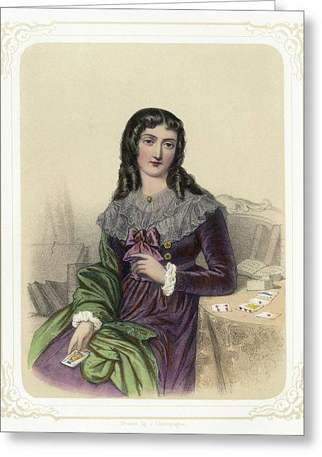 Marie Anne Lenormand (1772-1843) Greeting Card by Granger