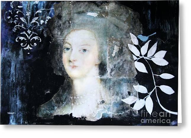 Marie Antoinette Greeting Card by Venus